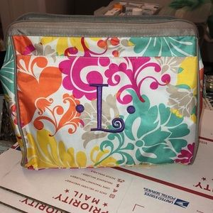 """Thirty-one large Toiletry Bag with """"L"""" initial"""
